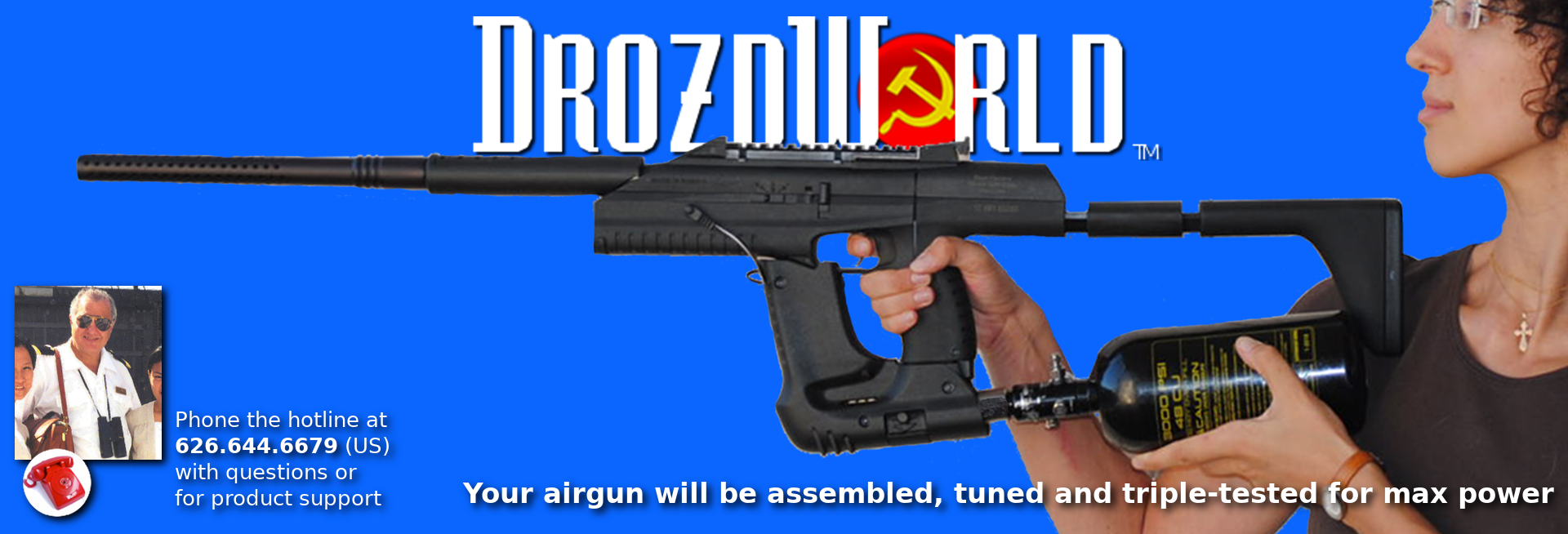 EXCLUSIVE! New Drozd Blackbirds with Full Auto-Fire Chip Installed!